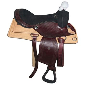 Round Skirt Barrel Racing Western Horse Saddle