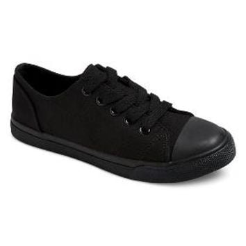 Boys' Philip Low-Top Canvas Sneakers Cat & Jack™ - Black