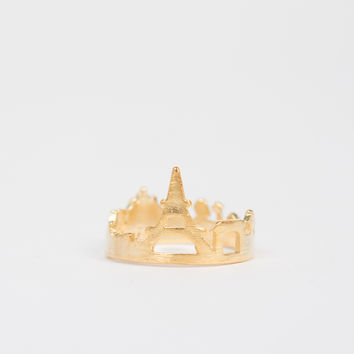 Paris Skyline Ring