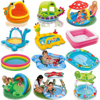 Bathroom Intex Cartoon Family Center Inflatable Swimming Pool Child Baby Kids Infant Bath Tub