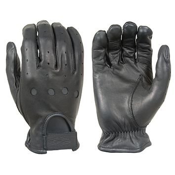 Damascus Premium Leather Driving Gloves