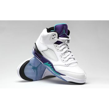 HCXX Air Jordan V Grape