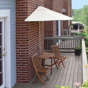 "5-pc Patio Furniture Set - (1)42 "" Table"