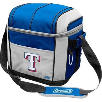 Coleman Coleman Texas Rangers Mlb 24 Can Soft Side Cooler