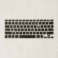 Black Marble Keyboard Cover - Urban Outfitters