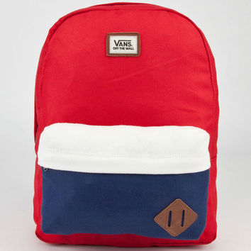 Vans Old Skool Ii Backpack Red/White/Blue One Size For Men 22919994801