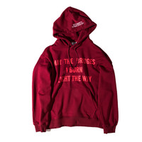 Hats Pullover Winter Alphabet Couple Hoodies [10182865095]