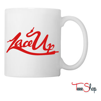 Lace Up Coffee & Tea Mug
