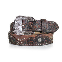 Ariat Women's Leather Studded Belt