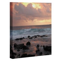 Deb Haugen Maui Gold Art Canvas