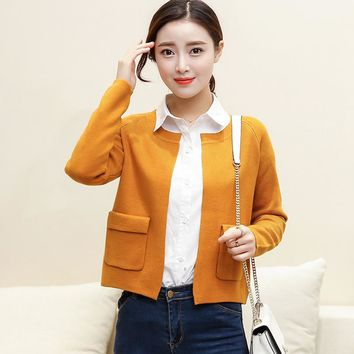 2017 Fashion Cashmere Sweater Women Cardigan Sweater Female Open Stitch Knitted Coat Slim Sweater Plus Size 50
