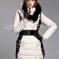 TS Lace Embroidery Puffer Jacket - US$ 399.99