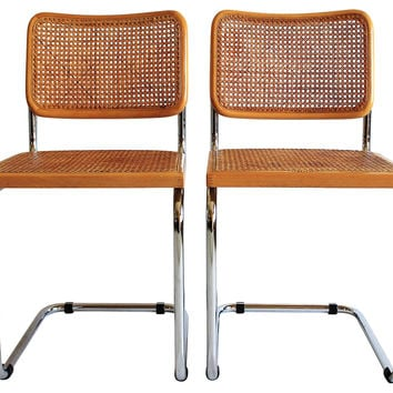 Marcel Breuer-Style Side Chairs