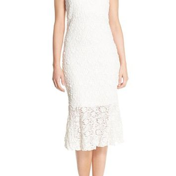 French Connection 'Havana' Lace Midi Dress | Nordstrom