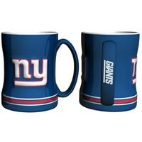 New York Giants NFL Coffee Mug - 15oz Sculpted (Single Mug)