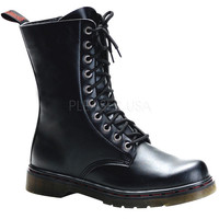 Copy of Disorder Ten Hole Black Vegan Boots