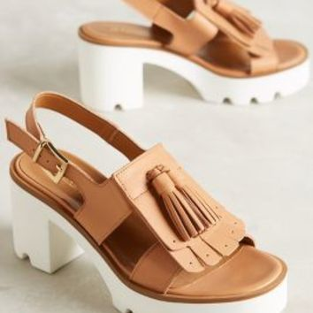 Jeannot Pampas Sandals Honey