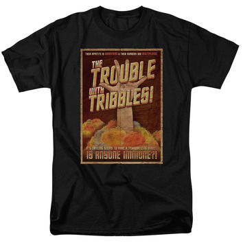 Star Trek Tribbles: The Movie Adult T-Shirt