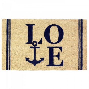 Coastal Love Doormat