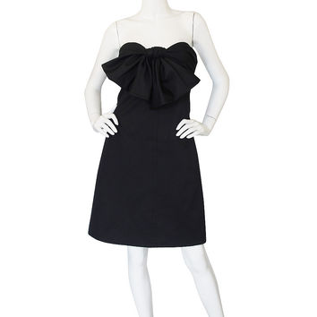 Recent Giambattista Valli Strapless Bow Dress