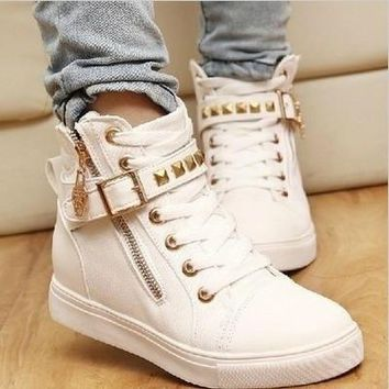 Leisure Natural Rubber women sneakers women boots running shoes woman pattern candy co