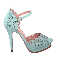Cut Out Pattern Heels, Perfect for Spring and Summer!