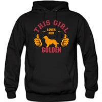 this-girl-loves-her-golden-t-shirt-design hoodie