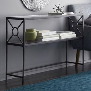 Wilton Glass Console Table