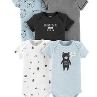 5-Pack Bear Original Bodysuits