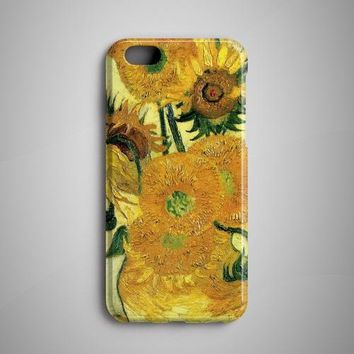 Phone Case - Van Gogh Sunflowers iPhone 8 Case Samsung Galaxy - Free Shipping