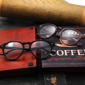 Retro Vintage Round Wood Printed Sunglass