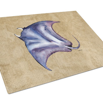 Stingray Glass Cutting Board Large