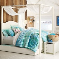 Beadboard Canopy Bed, Full