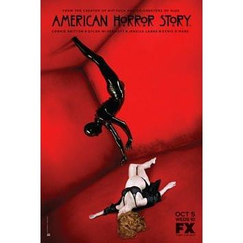 American Horror Story Movie poster Metal Sign Wall Art 8in x 12in