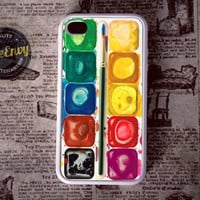 Watercolor paint kit iPhone 4 / 4s case
