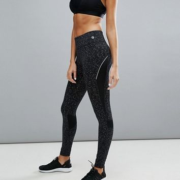 New Look Active Space Dye Gym Legging at asos.com