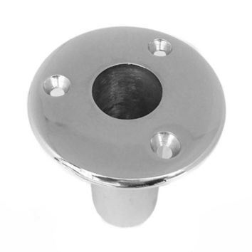 90 degree Embedded Deck Pipe Base 25mm Marine Yacht 316
