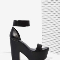 Windsor Smith Luxe Leather Platform