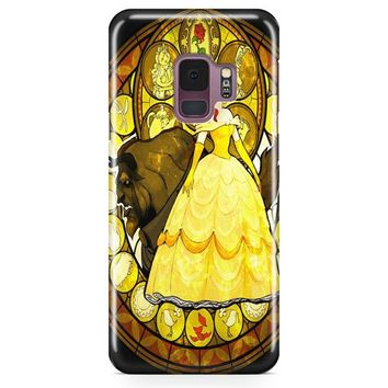 Disney Beauty And The Beast Painting Samsung Galaxy S9 Case | Casefantasy