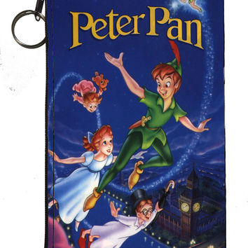 "Disney's Peter Pan Zipper Pouch 8"" x 4"""