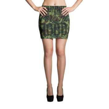 Army Camo Mini Skirt