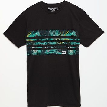 Billabong Spindrift T-Shirt - Mens Tee - Black
