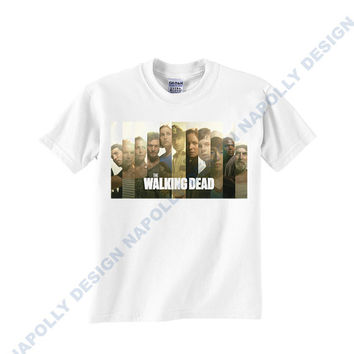 New The Walking Dead Custom Tshirt for men's , T shirt Cotton, Funny T shirt, Awesome T shirt, best design and clothing