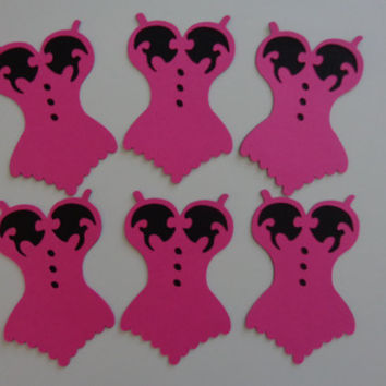 shop pink and black party decorations on wanelo