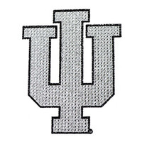 Indiana Hoosiers Bling Auto Emblem