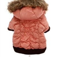 Luxury Pink Quilted Ski Parka -Coats - Dresses Posh Puppy Boutique