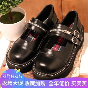 Japanese Lolita Shoes Sneakers Lovely Princess Cute Student Cos Cosplay Nude Shoes O
