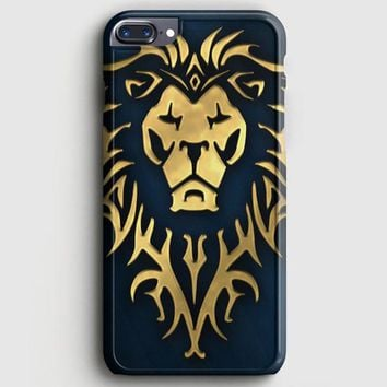 World Of Warcraft Alliance Gold Logo iPhone 7 Plus Case