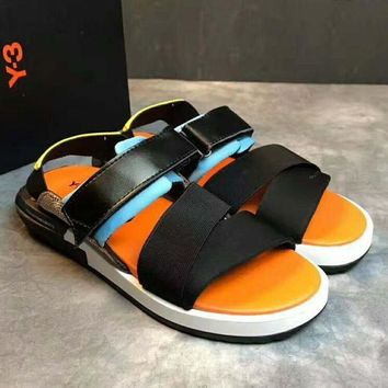 ONETOW Adidas Y3 Casual Fashion Women Man Sandal Slipper Shoes H-PSXY