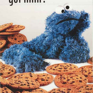 Cookie Monster Got Milk? Sesame Street Poster 24x34